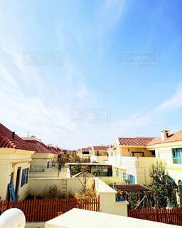 風景,空,建物,屋外,雲,窓,家,樹木