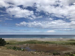 自然,風景,海,空,屋外,湖,ビーチ,雲,水面,海岸,草