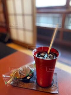うるし塗りのカップの写真・画像素材[4547022]