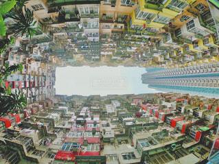 香港見上げる絶景の写真・画像素材[4412055]