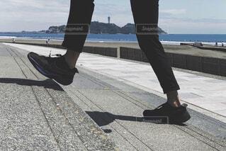 海を散歩の写真・画像素材[4412086]