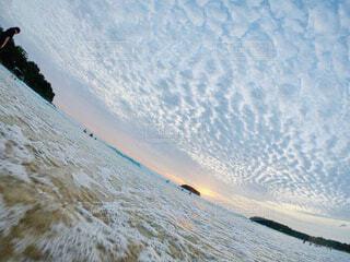 空と海の写真・画像素材[4416653]
