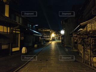 京都の夜ぶらり旅の写真・画像素材[4395137]