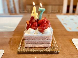 誕生日ケーキの写真・画像素材[4518028]