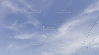 空,屋外,雲,飛行機