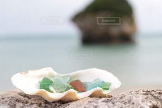 海辺の宝箱の写真・画像素材[4677925]