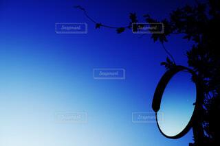 青と影の世界の写真・画像素材[4412470]