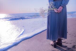 海に約束の写真・画像素材[4438591]