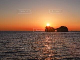 夕日の写真・画像素材[4416457]