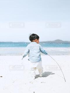 海岸散歩の写真・画像素材[4446524]