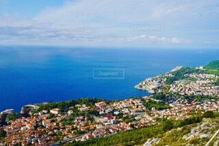 クロアチア、ドブロブニクの街並みの写真・画像素材[4432372]