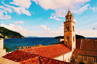 クロアチア、ドブロブニクの景色の写真・画像素材[4555654]