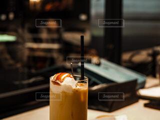 コーヒーとアイスの写真・画像素材[4590584]