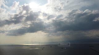 自然,空,屋外,湖,ビーチ,雲,水面,くもり,フォトジェニック