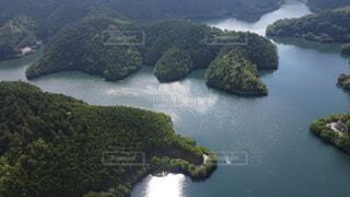 自然,屋外,湖,水面,葉,山,旅行,空撮,フォトジェニック,川の島