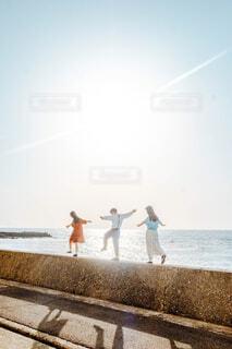 夏を歩くの写真・画像素材[4432727]