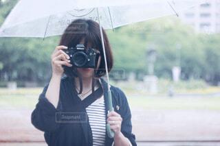 雨の日撮影の写真・画像素材[4567841]