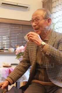 米寿のお祝いの写真・画像素材[4606273]