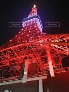 背景に大きな橋の写真・画像素材[4436467]