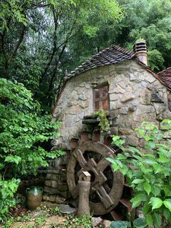 古い石造りの建物の写真・画像素材[4438117]