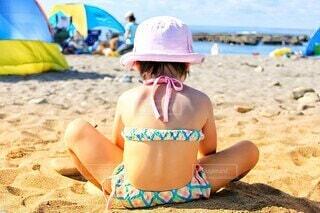 砂遊びの写真・画像素材[4509022]