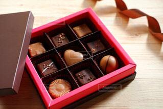 チョコレート プレゼントの写真・画像素材[4444242]