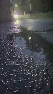 自然,建物,雨,水,窓,水面,反射,梅雨
