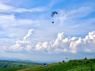 夏の空の写真・画像素材[4469007]