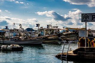 船は港に停泊しているの写真・画像素材[4465159]