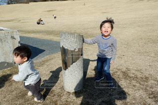 公園にての写真・画像素材[4611569]