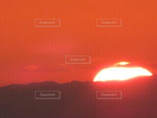 自然,空,屋外,太陽,雲,夕暮れ,オレンジ,日の出