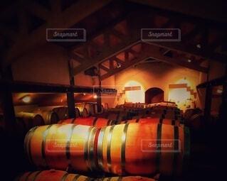 地下の酒樽・画像素材の写真・画像素材[4455324]