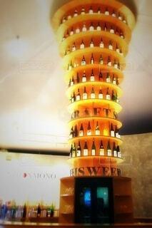 日本酒の塔・画像素材の写真・画像素材[4455345]