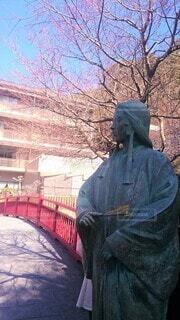 有馬温泉ねね像とねねの橋の写真・画像素材[4523667]