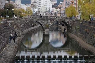眼鏡橋の写真・画像素材[933225]