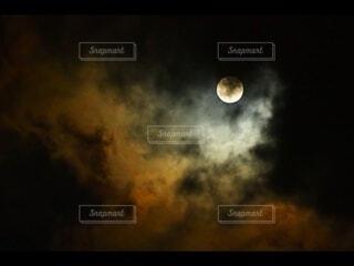 自然,風景,空,雲,月