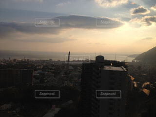 夕焼けの眺めの写真・画像素材[4463239]