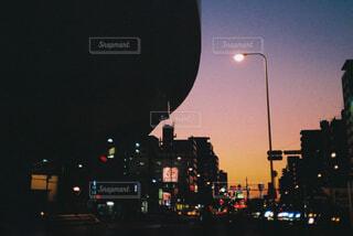 夕暮れの街の写真・画像素材[4463141]