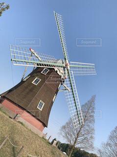 空,屋外,風車,工場,風力タービン,ウィンドファーム