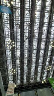 建物,屋内,屋根,天井,新千歳空港