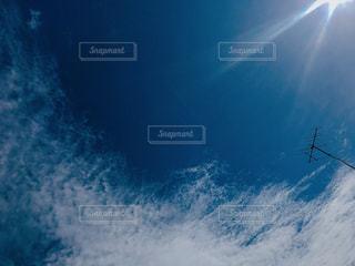 空を飛んでいる人の写真・画像素材[1326131]