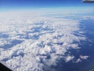 自然,空,屋外,雲,飛行機,窓,空中,フライト,高い