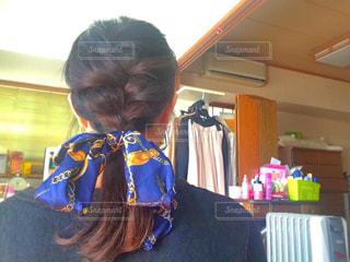 髪型の写真・画像素材[404401]