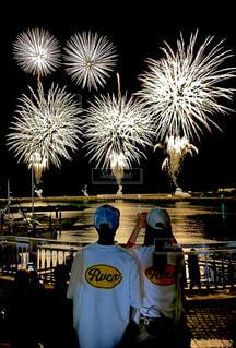 あの夏日の花火大会の写真・画像素材[4520975]