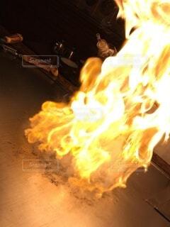 炎,火,料理,フランベ,書き込み