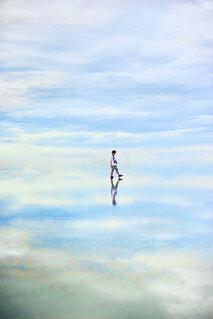 水色世界の写真・画像素材[4473771]
