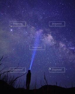 天の川の写真・画像素材[4762662]