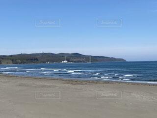 自然,風景,海,空,屋外,湖,砂,ビーチ,水面,海岸,山