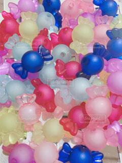 カラフル,風船,カラー,キャンディ,ビーズ,パーティー用品