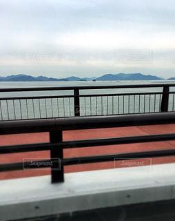 海,曇り空,広島市,車窓から,ひなくんママ,hinakunmama,五日市大橋